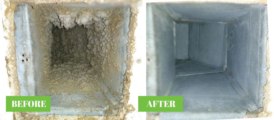 Before and After - Ducts